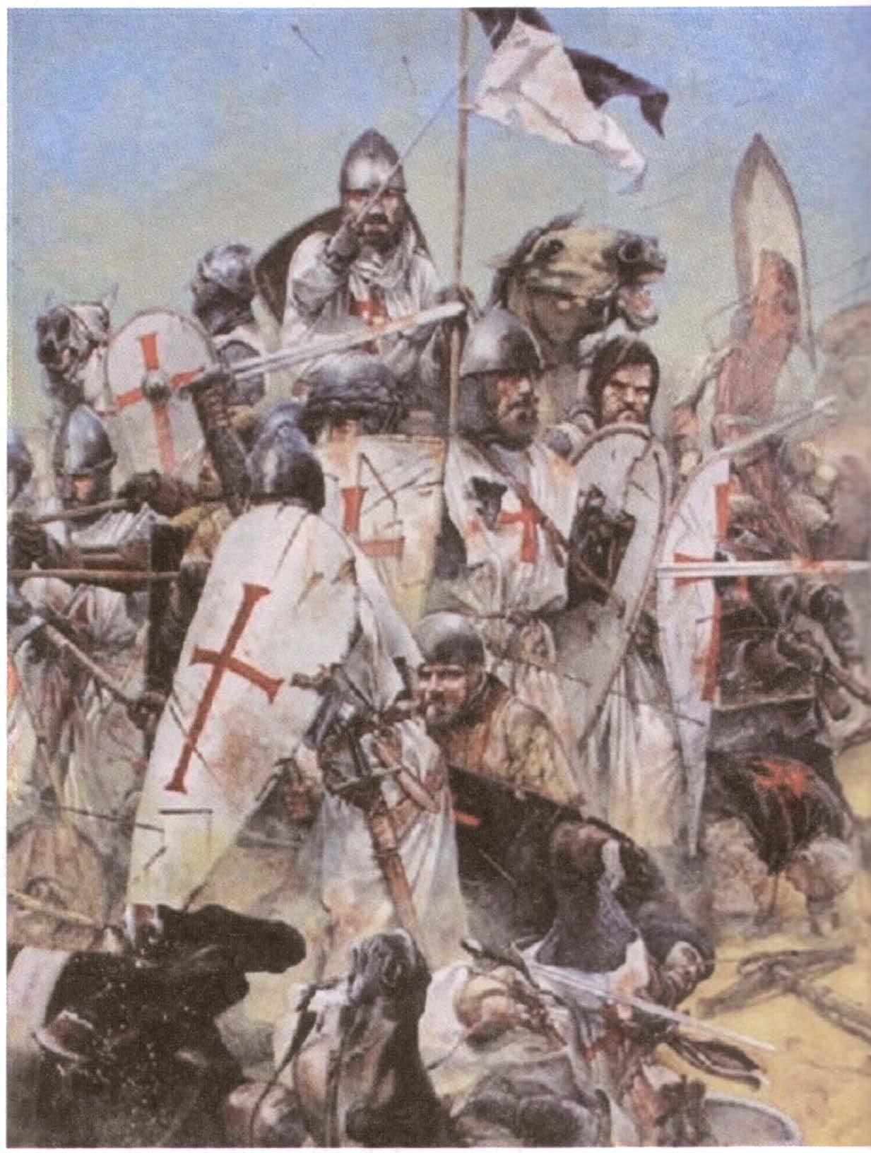 Доклад по истории крестоносцы 9742